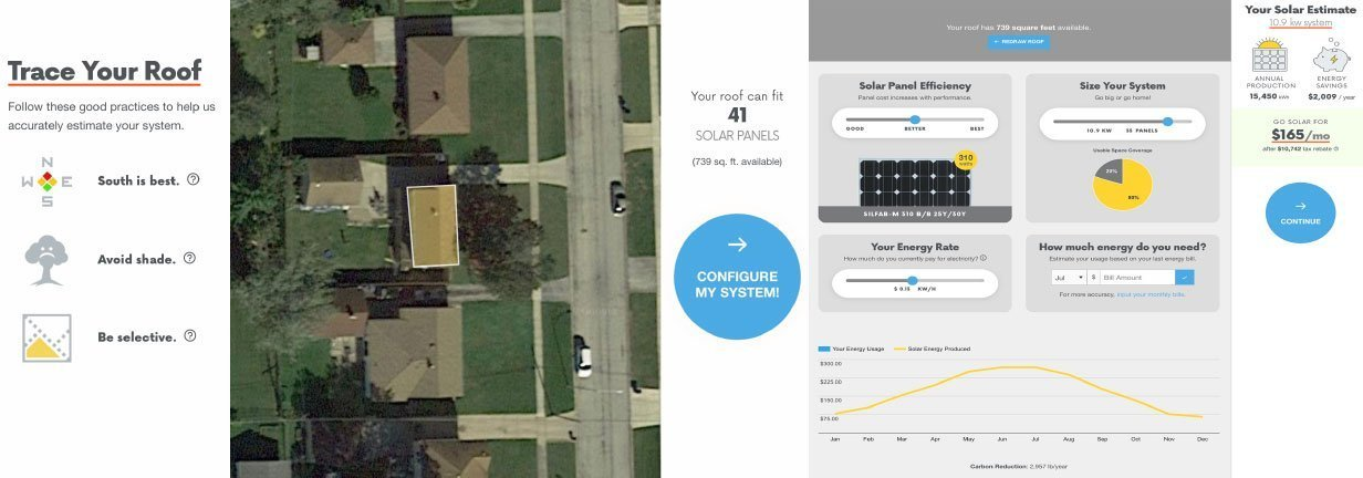 Solar Sam Design Tool to Trace Your Roof and Configure Your Solar Panel Installation