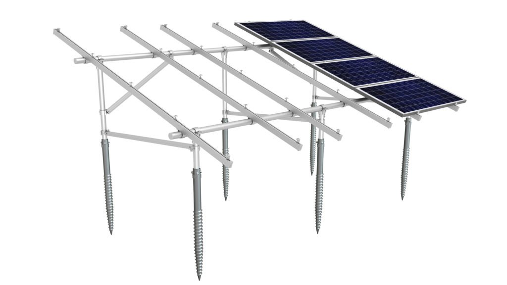 SunTurf by Sunmodo Multi-Purpose System Ground Mount Ground Screw for Solar Panels in Missouri by Solar Sam Professional Installers