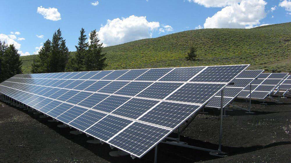 How Solar Works Panel Array Power Sun Electricity Photovoltaic Panels Ground Mount by Solar Sam in Missouri or Illinois